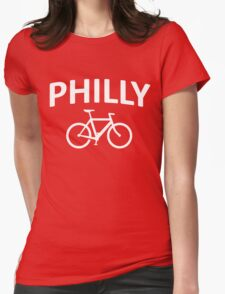 I Bike Philly - Philadelphia, PA Womens Fitted T-Shirt
