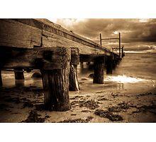 Elwood Pier Photographic Print