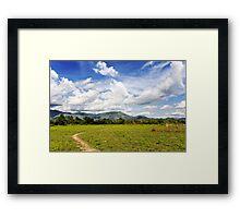Rural Laos Framed Print