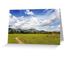 Rural Laos Greeting Card