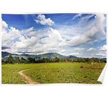 Rural Laos Poster