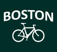 I Bike Boston - Fixie Design by robotface