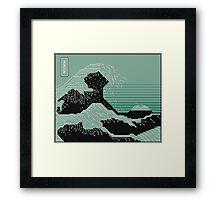 Katsushika Hokusai Electronic Circuit Board Framed Print