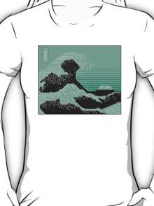 Katsushika Hokusai Electronic Circuit Board T-Shirt