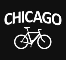 I Bike Chicago - Fixie Bike Design One Piece - Long Sleeve