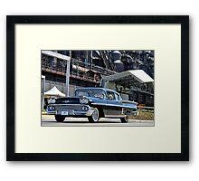 1958 Chevrolet Imapla Framed Print