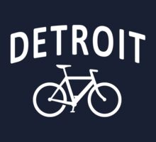 I Bike Detroit - Fixie Bike Design Kids Clothes