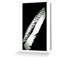 Feathered Friend Greeting Card