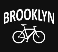 I Bike Brooklyn, NYC - Fixie Bike Design T-Shirt