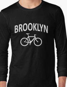 I Bike Brooklyn, NYC - Fixie Bike Design Long Sleeve T-Shirt