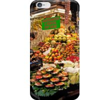 Tropical Fruit Salad Kits iPhone Case/Skin