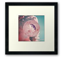 Crystal Candy Volcano Framed Print