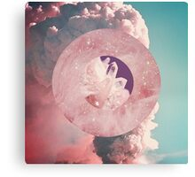Crystal Candy Volcano Canvas Print