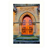 Eternity -St Michael the Archangel Chapel (commenced in 1886) - HDR  Series Art Print