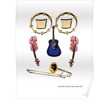Music Man by Darryl Taylor Kravitz Poster