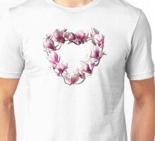 Magnolia Heart Unisex T-Shirt