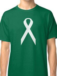 Lung Cancer Awareness ribbon Classic T-Shirt