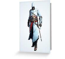 Master Assassin Greeting Card
