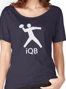 iQB WHITE Women's Relaxed Fit T-Shirt