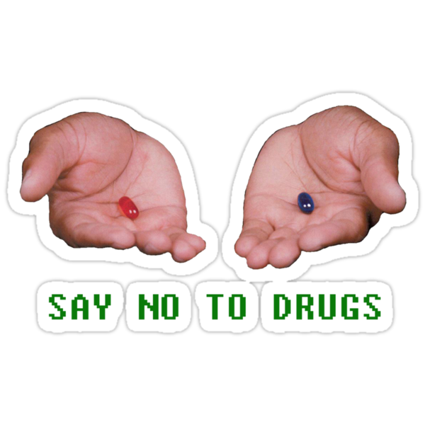 Say No To Drugs by Mikhayl Von Riebon