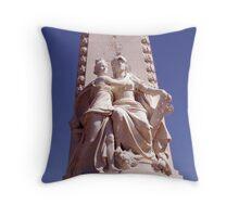 Great sculpture  Throw Pillow