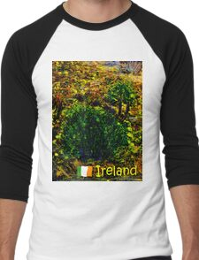 jGibney Ireland 1999 Kerry Lake District Ireland The MUSEUM Red Bubble Gifts Men's Baseball ¾ T-Shirt