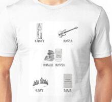 Lindsay Lohan Characters Unisex T-Shirt