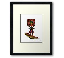 Patterns in the Female Light of Creative Aura by Darryl Taylor Kravitz 2015 Framed Print