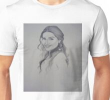 A Woman Sketch Unisex T-Shirt