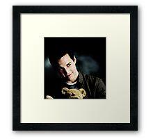The Vampire Diaries - Kai Parker Framed Print