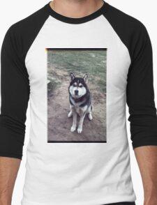 00355 Men's Baseball ¾ T-Shirt