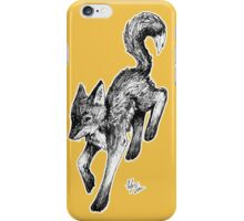 Black Fox iPhone Case/Skin