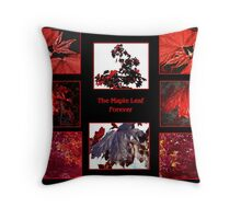 The Maple Leaf Forever Throw Pillow