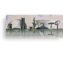Brasilia skyline Metal Print