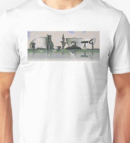 Brasilia skyline Unisex T-Shirt