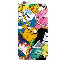 the adventure time mess iPhone Case/Skin