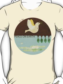 Peace On Earth (Tee version) T-Shirt
