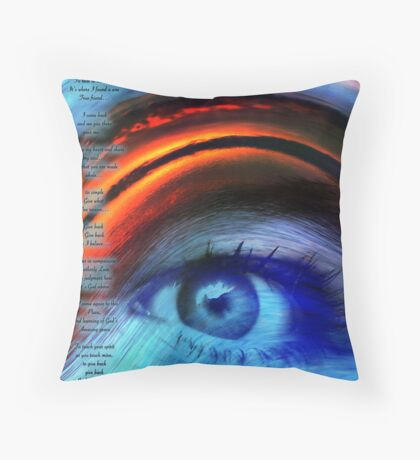 I SEE YOU ... Throw Pillow