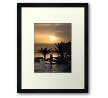 Dead Sea - Jordan Framed Print