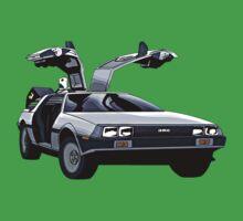 DeLorean Baby Tee
