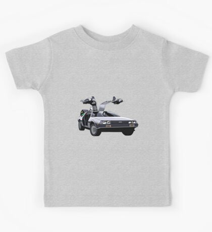 DeLorean Kids Tee