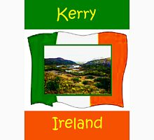 jGibney Ireland 1999 Kerry Lake District Kerry Ireland Flag T-Shirt wb The MUSEUM Red Bubble Gifts Womens Fitted T-Shirt