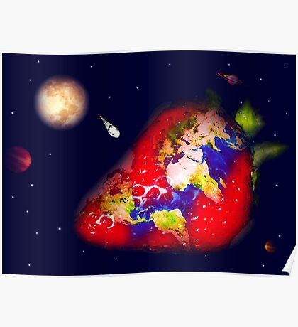 Strawberry World  Poster