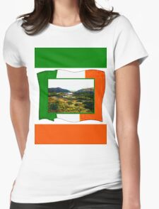 jGibney Ireland 1999 Kerry Lake District Ireland Flag T-Shirt wb The MUSEUM Red Bubble Gifts T-Shirt
