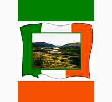 jGibney Ireland 1999 Kerry Lake District Ireland Flag T-Shirt wb The MUSEUM Red Bubble Gifts Womens Fitted T-Shirt