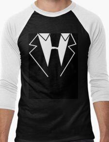 Black Tie Suit Men's Baseball ¾ T-Shirt