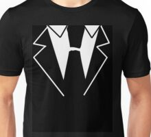Black Tie Suit Unisex T-Shirt