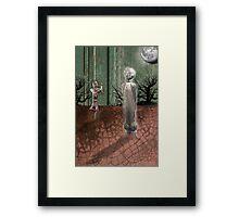 The Moon Dance Framed Print
