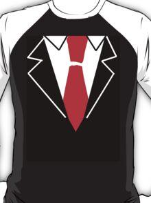 Red Tie Suit T-Shirt
