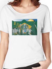 Rio de Janeiro skyline Women's Relaxed Fit T-Shirt